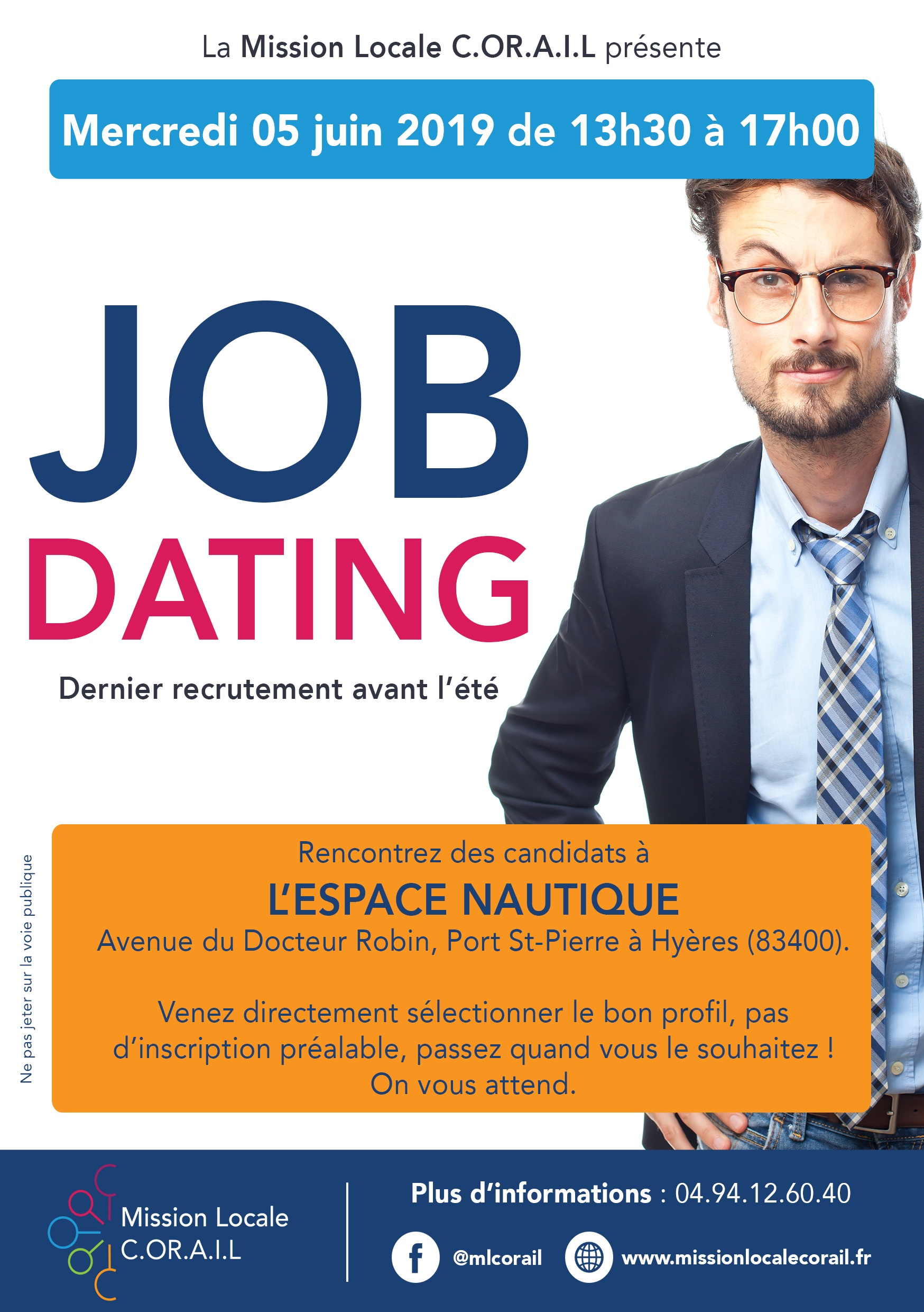 FLYER JOB DATING ENTREPRISE