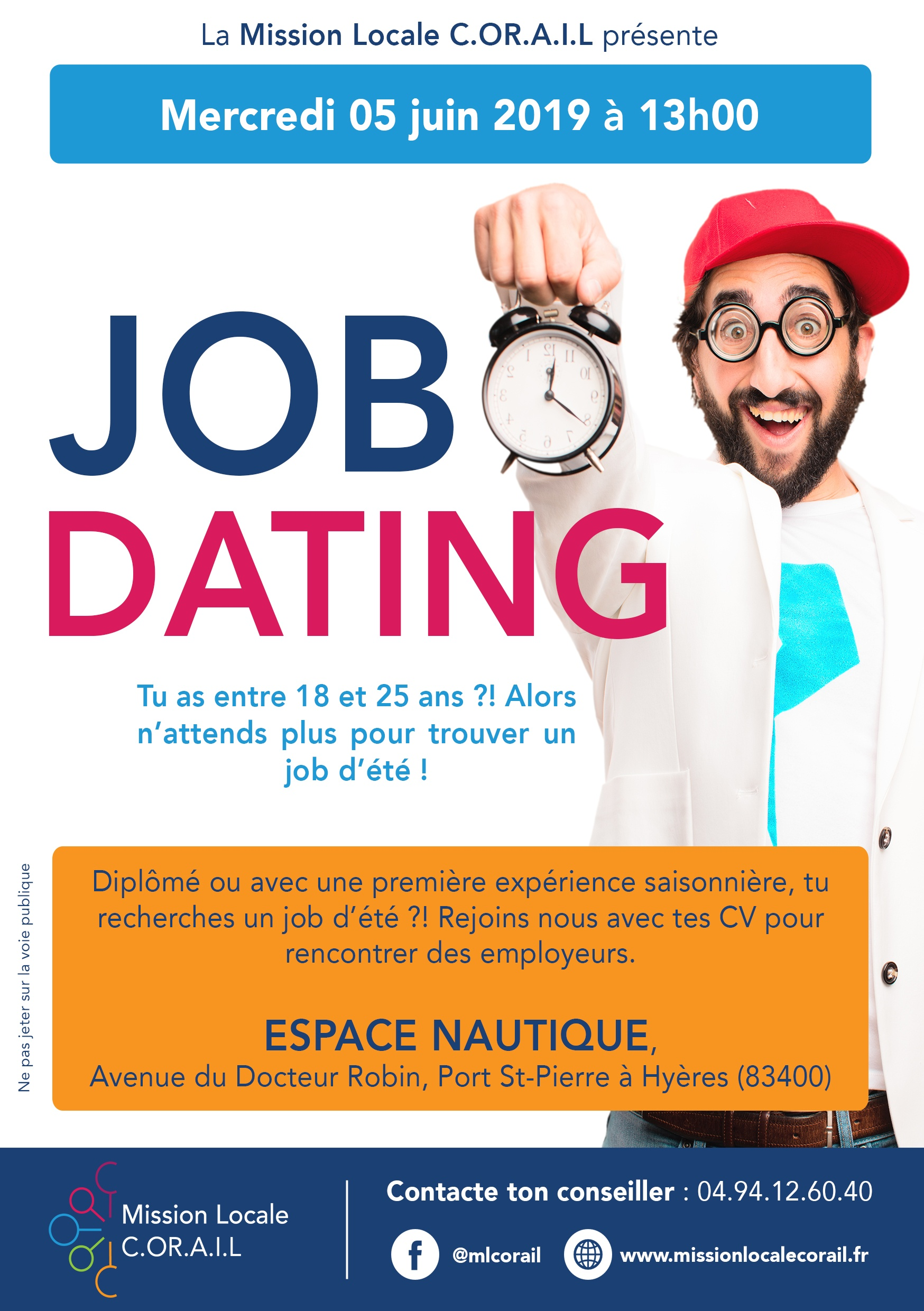 FLYER JOB DATING JEUNES