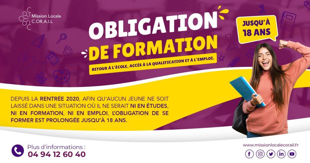 IMAGE OBLIGATION DE FORMATION
